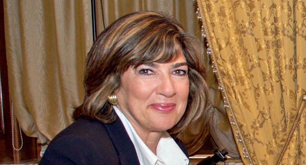 Christiane Amanpour will replace Charlie Rose on PBS: 'Thrilled to be a female filling this role'