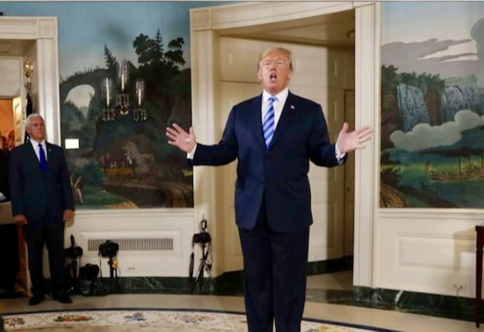 Trump pulls US from Iran nuclear deal, to revive sanctions