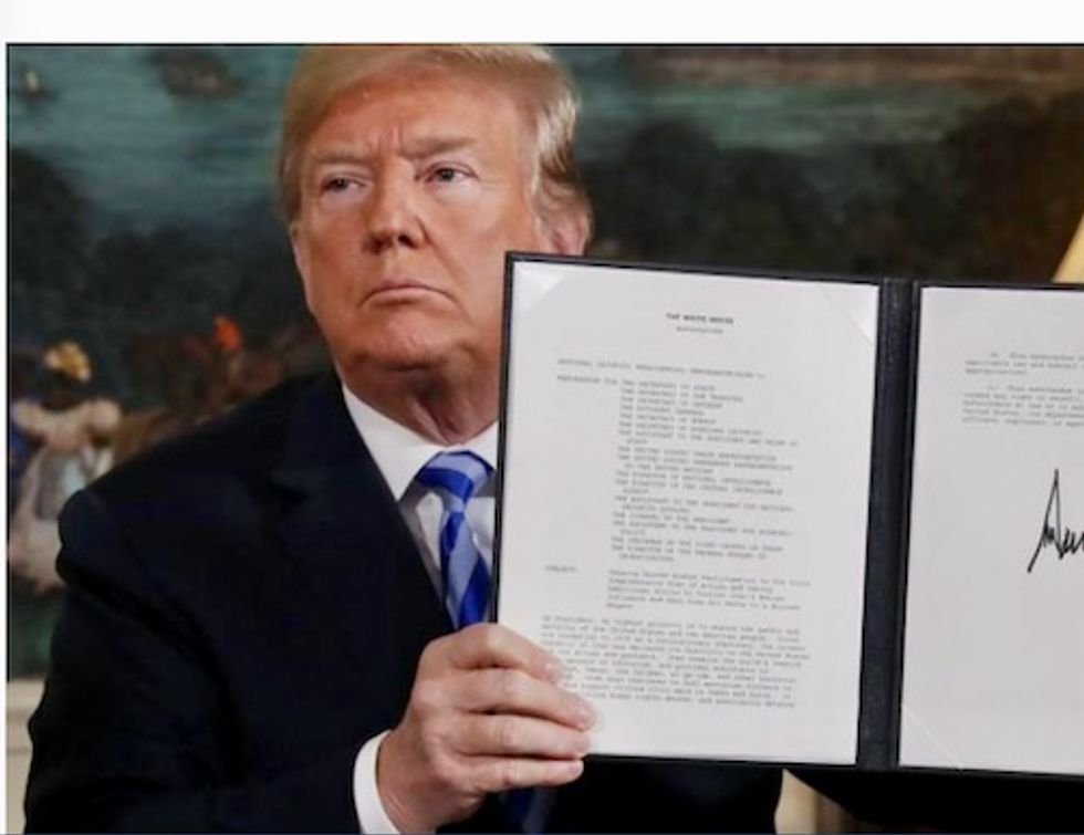 Less than one in three Americans support US pullout from Iran deal