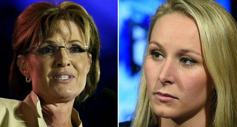 Sarah Palin has a 'crush' on far-right French politician Marion Marechal-Le Pen