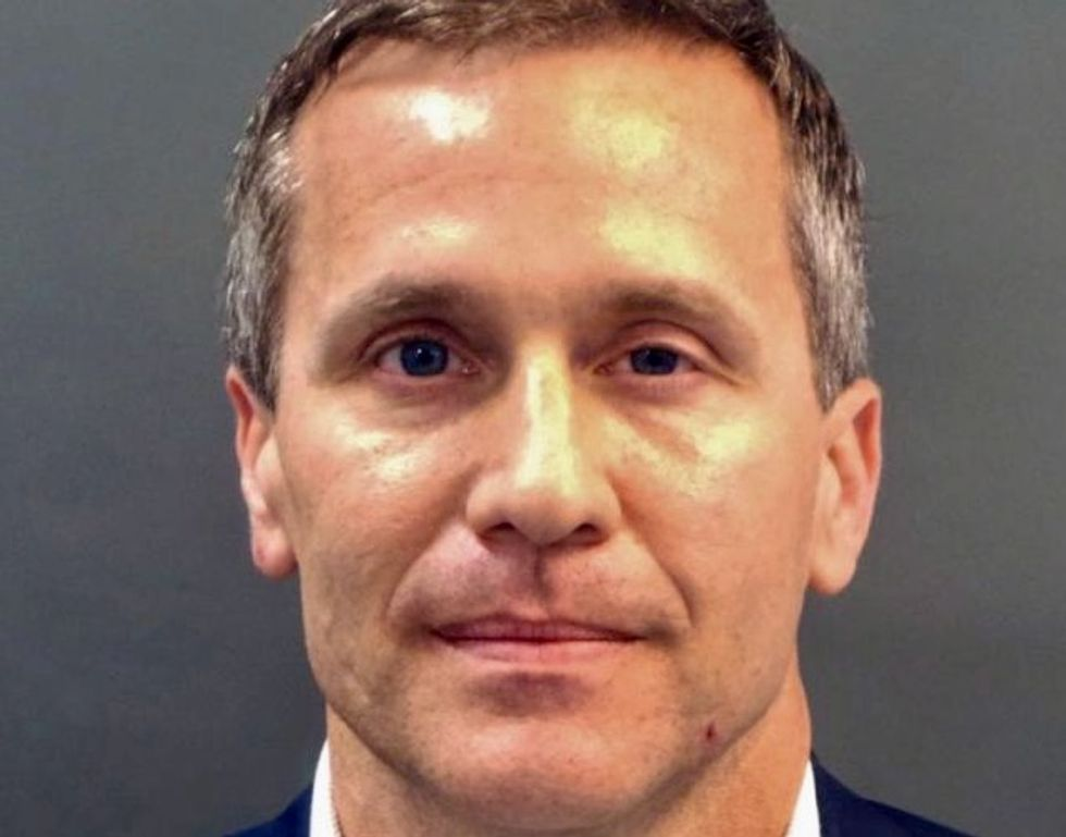 Pressure mounts for Missouri Governor Eric Greitens to resign over sex scandal
