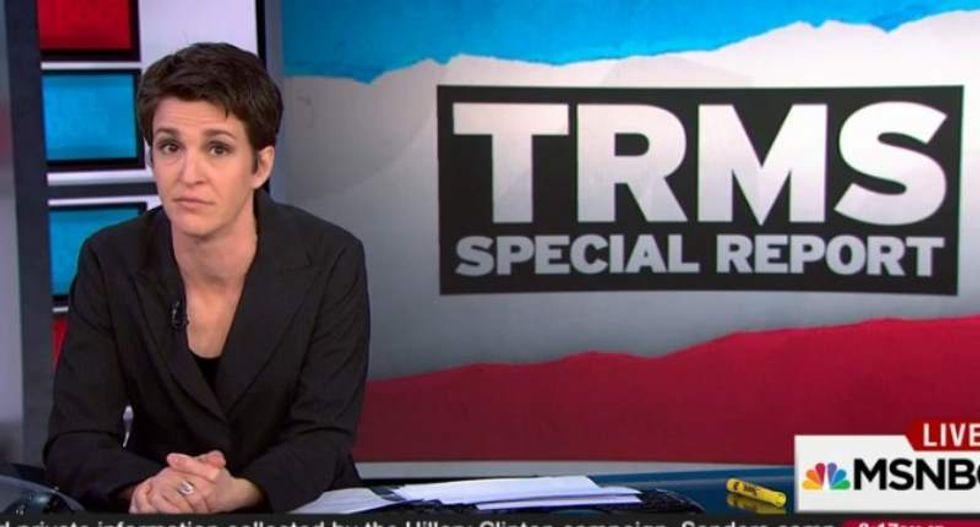 Rachel Maddow shames Gov. Rick Snyder: Michigan kids were poisoned under your watch