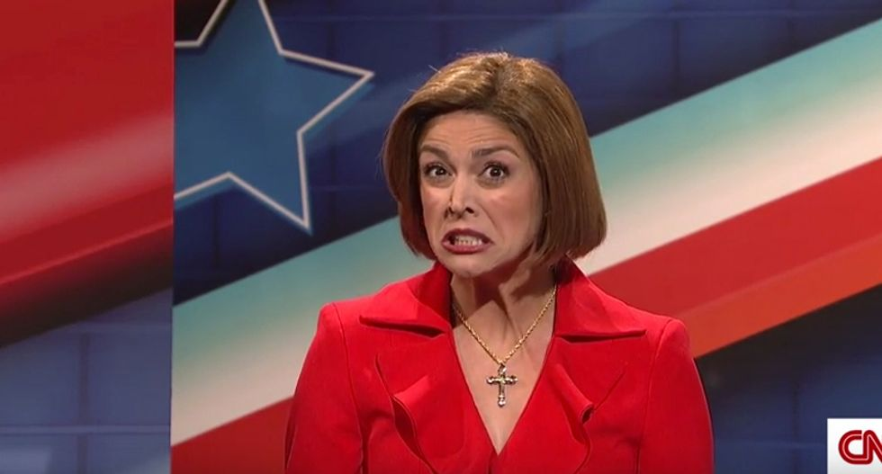 Carly Fiorina and Jeb Bush brutally mocked in SNL GOP debate as all 9 candidates get skewered