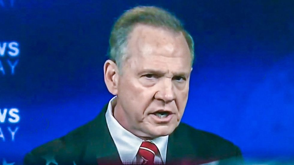 WATCH LIVE: Ex-Chief Justice Roy Moore faces Luther Strange in 'Lincoln-Douglas' debate for Senate
