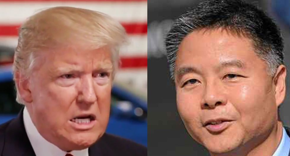 Rep. Ted Lieu takes shot at Trump's ancestors after president calls for only admitting immigrants based on 'merit'