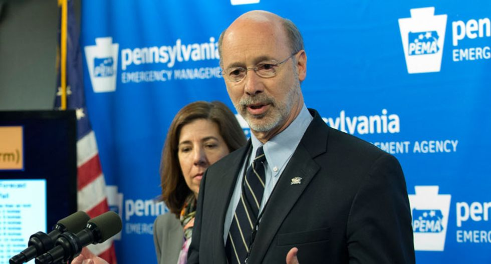Pennsylvania governor seeks $2 billion of cuts in proposed budget