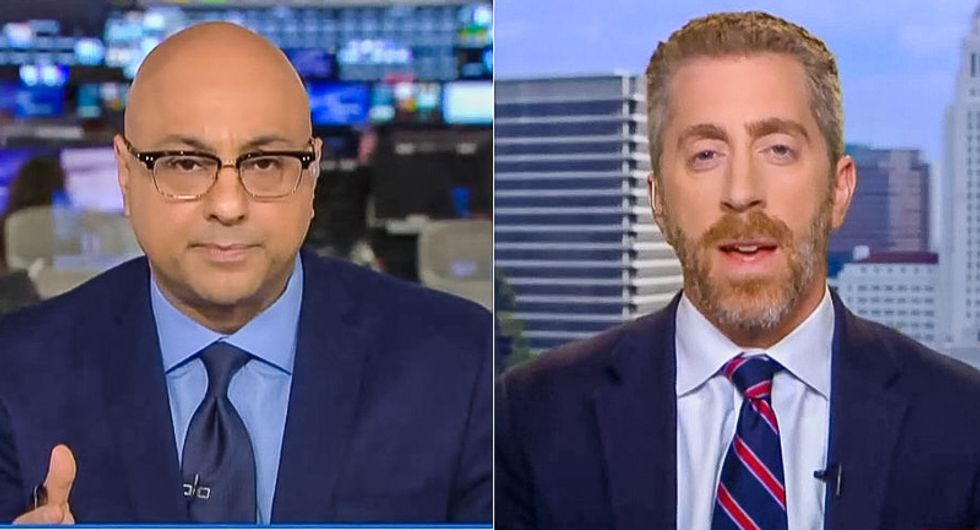 MSNBC host asks dude from Breitbart to 'talk about solutions' to abortion