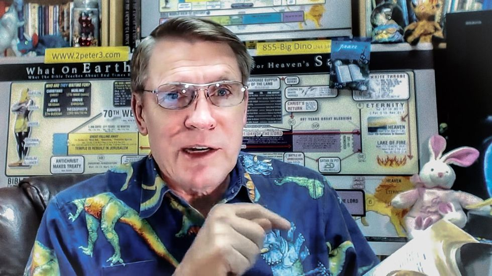 Creationism evangelist: God put contradictions in the Bible to 'weed out' the atheists
