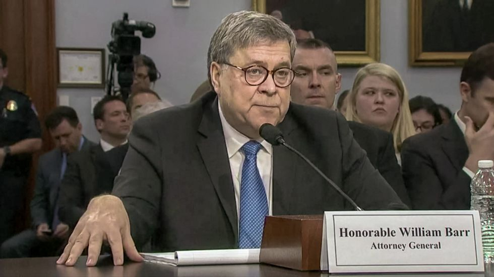 Conservatives rip into AG Barr for covering up for Trump's lies and obstruction