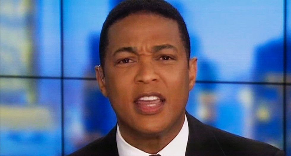 'Goodnight - goodnight we're done': Don Lemon abruptly ends show after losing it with Jeffrey Lord
