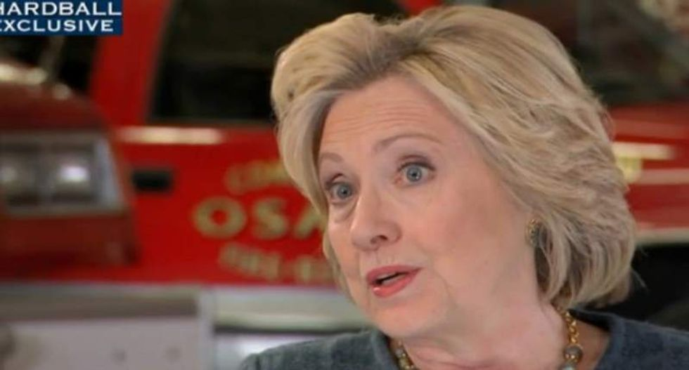Hillary Clinton: Responsible gun owners need to form 'rival organization' against NRA