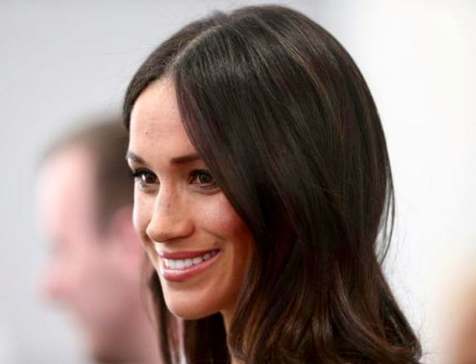 Meghan Markle gives birth to a 'very healthy' boy