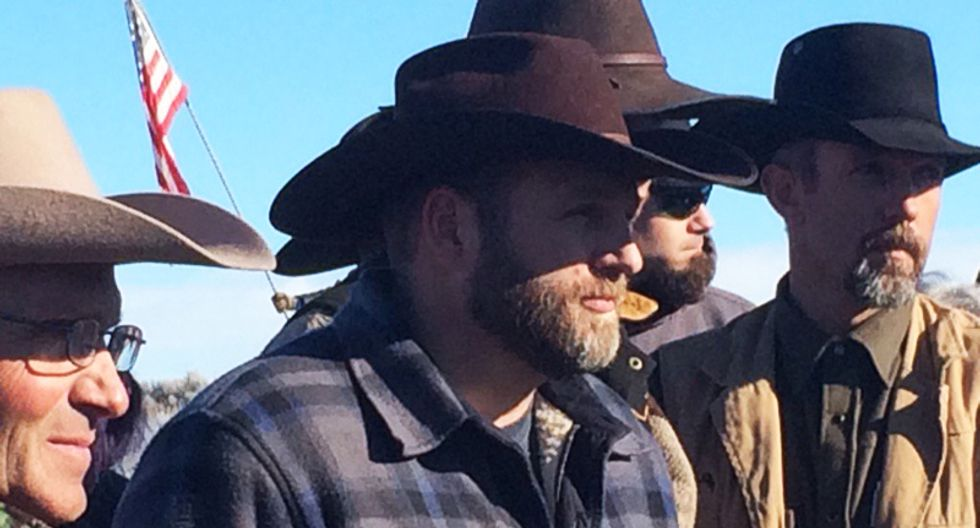 Militia leader Ammon Bundy: Occupiers will leave wildlife refuge only as 'free men'