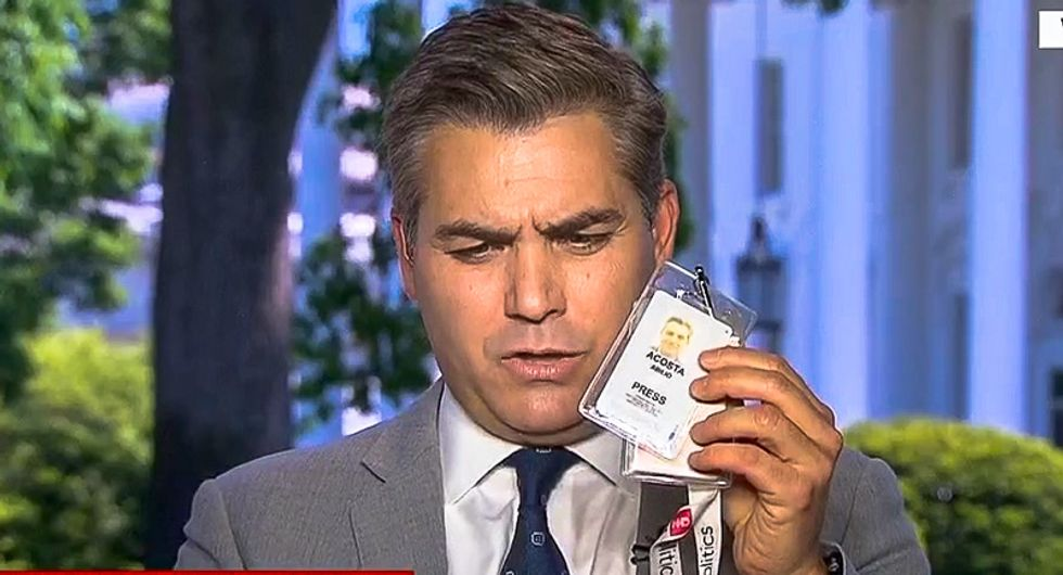 CNN's Jim Acosta: Trump is violating his oath of office by attacking the free press