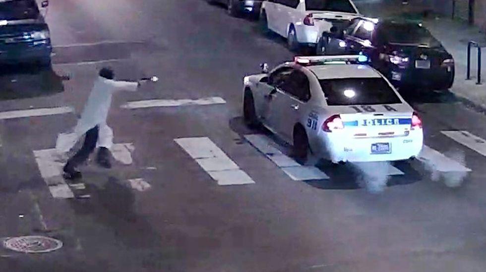 Philadelphia police probe possible extremist ties in police shooting