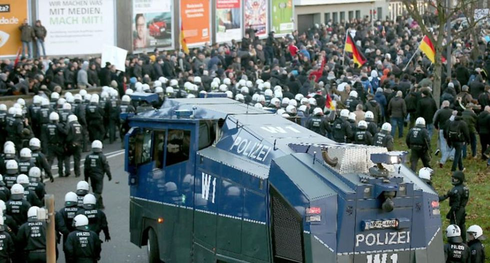 Angry mob brutally attacks several migrants in Cologne: German police