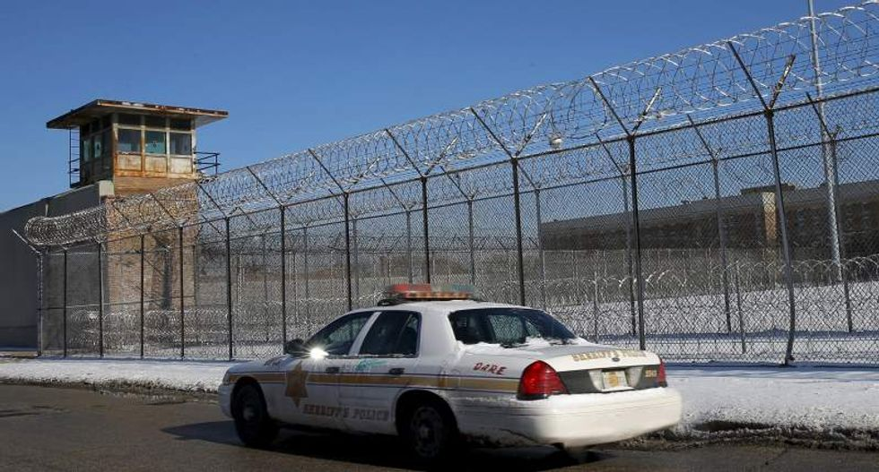 Biggest single-site jail in US on lockdown after more than 100 officers no-show