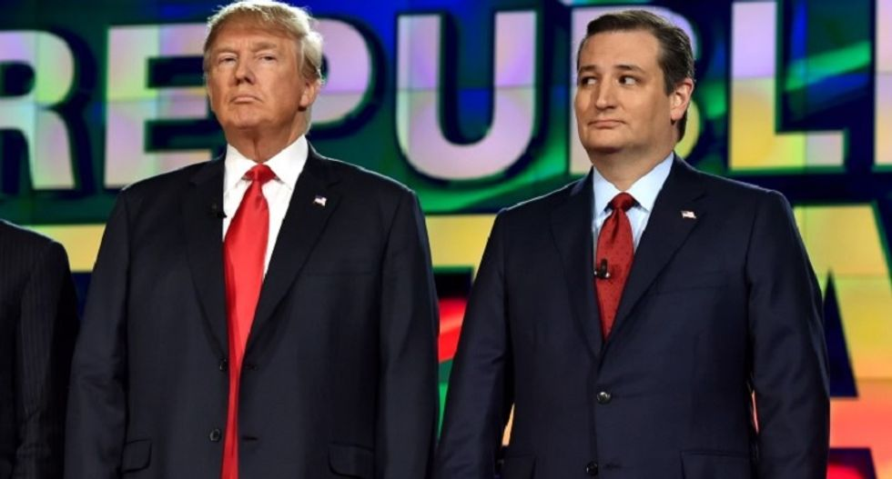 'Despondent' Republicans watch in horror as voters continue to back Trump and Cruz