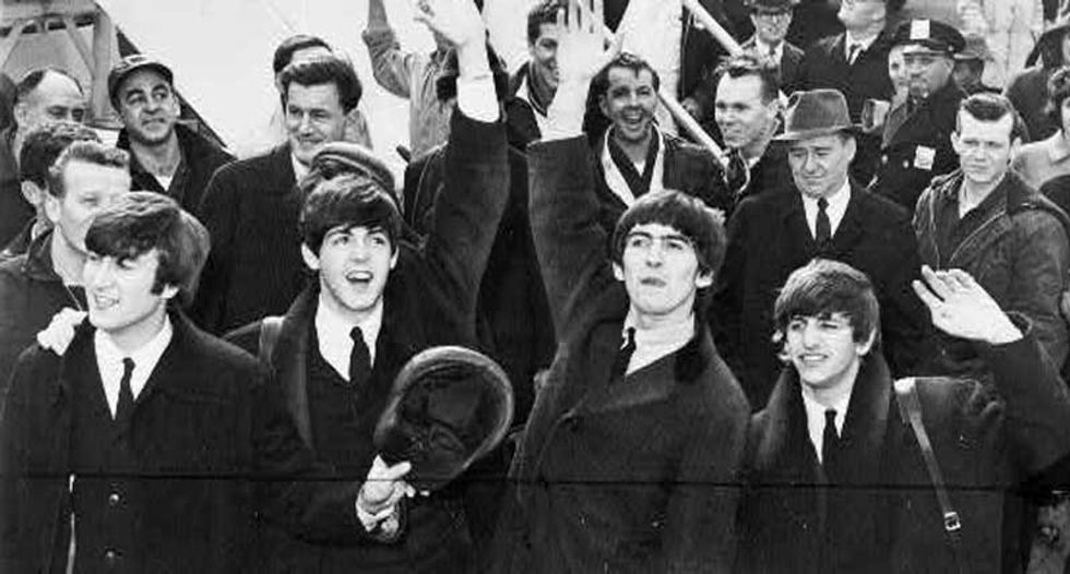 What did Charles Manson hear in the music of the Beatles?