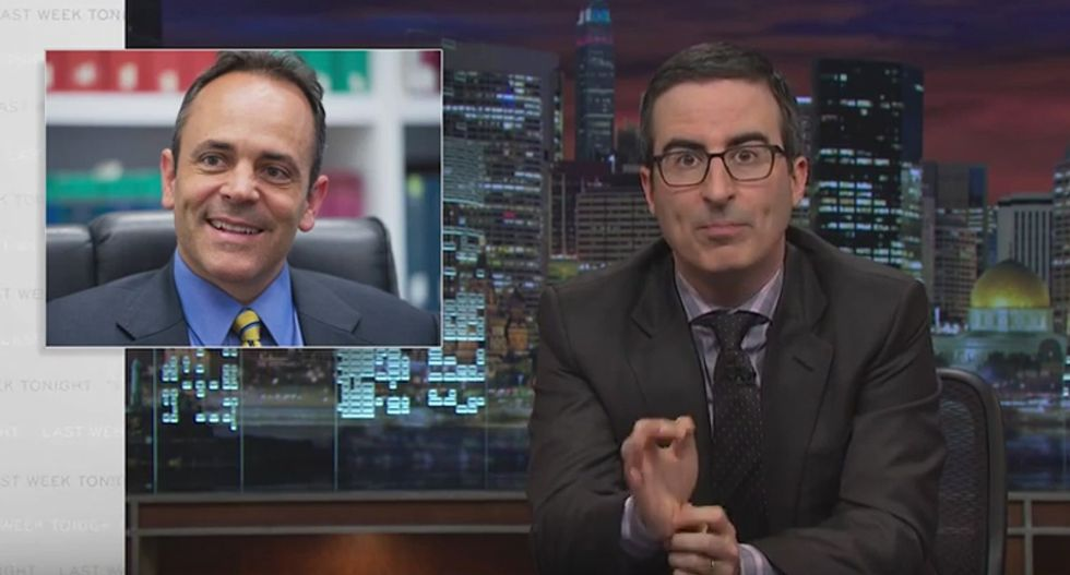 John Oliver destroys lying, hypocritical GOP 'idiot' who wants to gut Medicaid