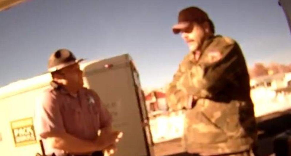 Oregon man joining Bundy militants threatens cops in drunken rant: 'I will kill all of you'