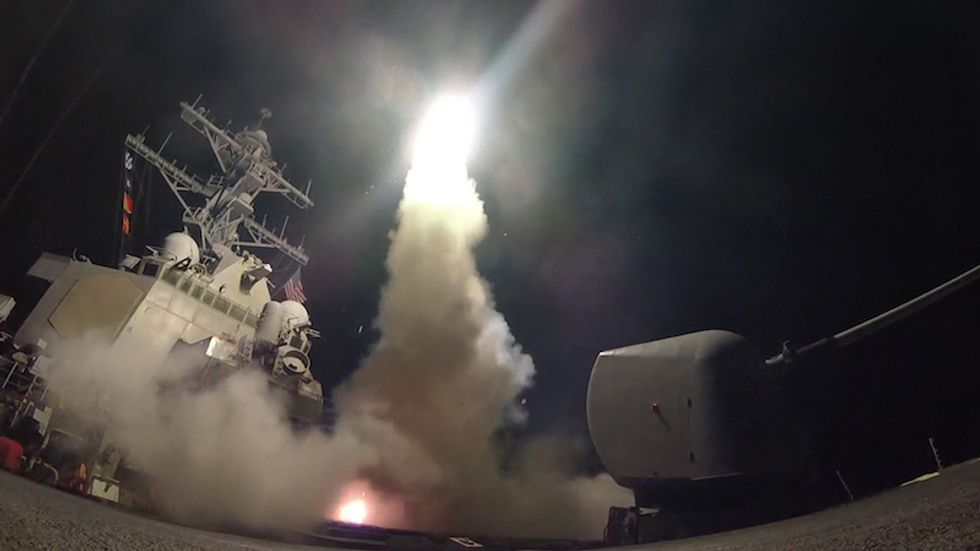 Russian warship headed towards US Navy destroyers who launched Syria attack: Fox News