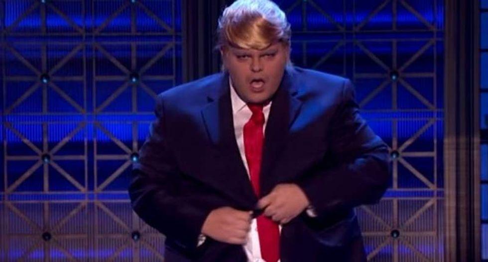 WATCH: 'Frozen' star Josh Gad sends up Trump in hilarious 'Lip Sync Battle' clip