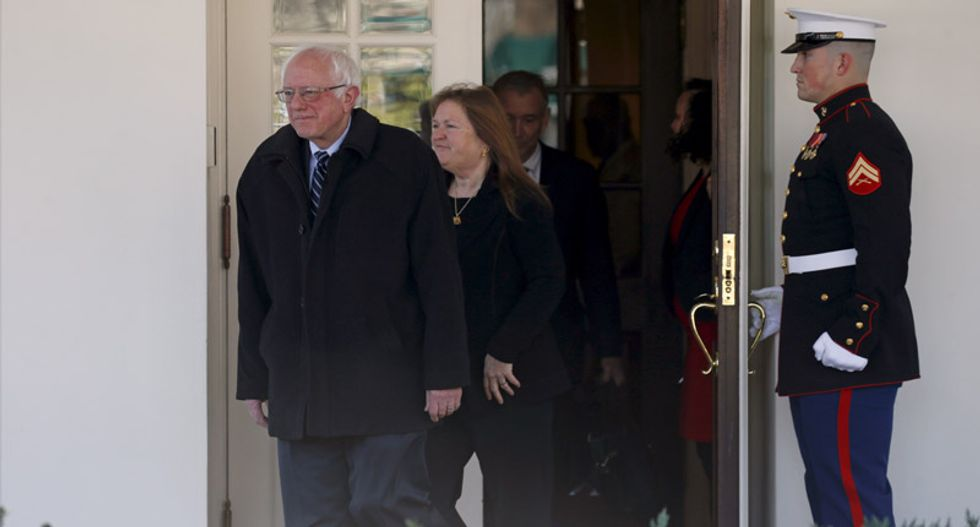 Bernie Sanders says Obama will remain neutral in Democratic primary race after meeting with president
