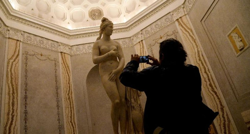 Iran's Rouhani denies asking for nude statues in Rome to be covered up