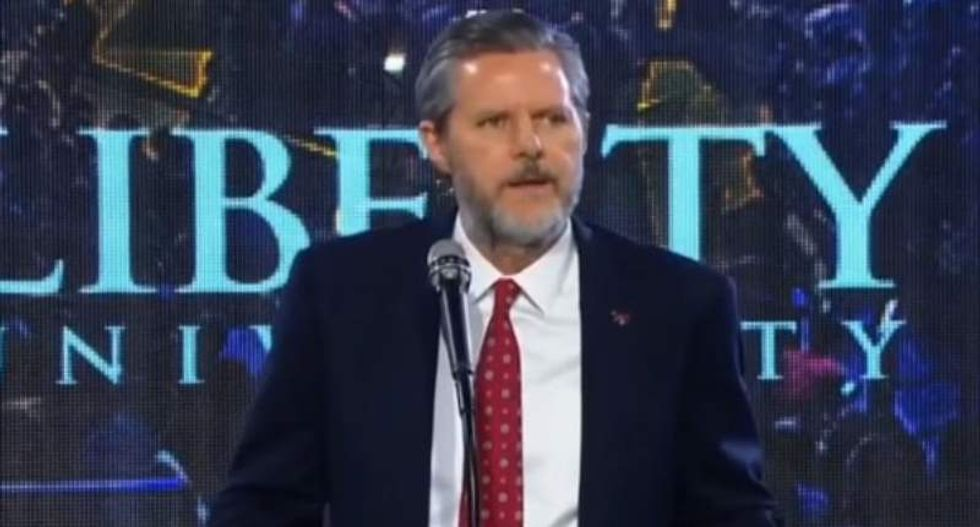 Jerry Falwell's endorsement of Trump reveals who he worships— and it ain't Jesus