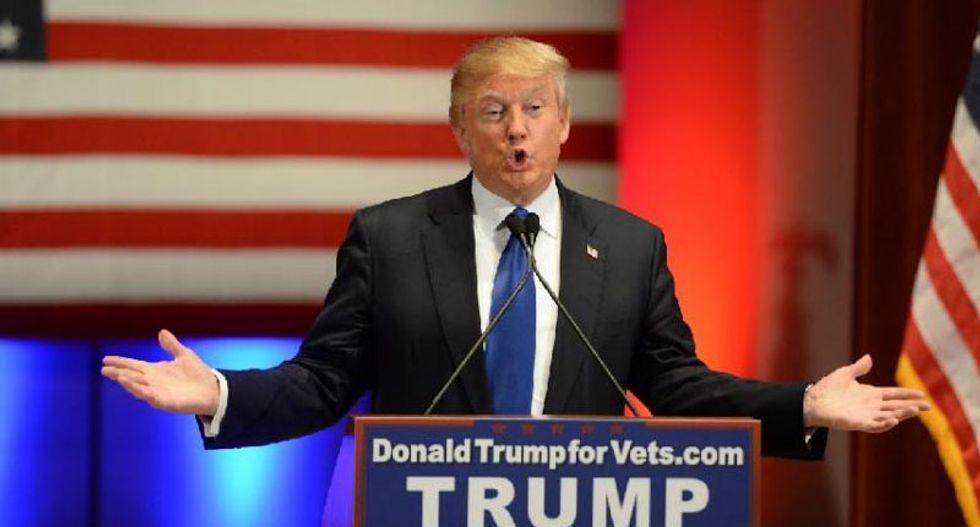Republicans debate as no-show Trump taunts them from afar