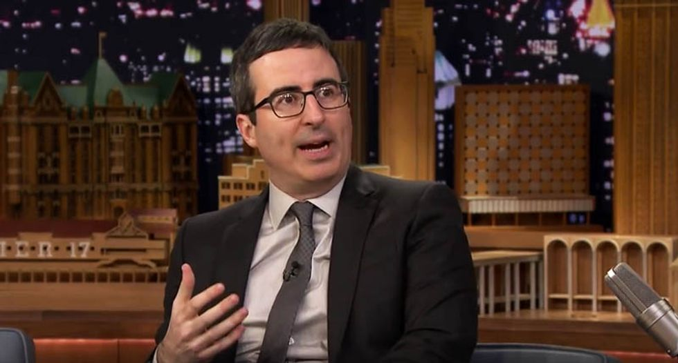 John Oliver hilariously explains how easy it is to set up a church and get people to send you money