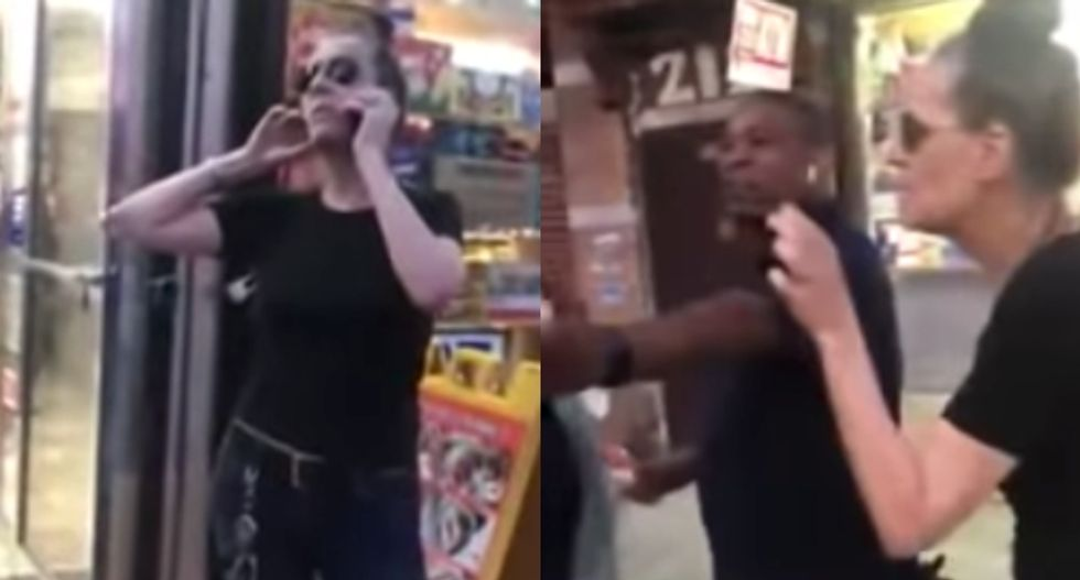 White woman calls cops on 9-year-old black boy for 'sexual assault' — onlookers say he simply brushed against her