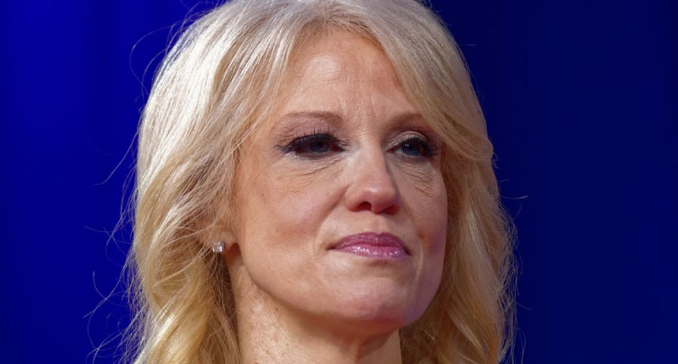 'Inappropriate': Kellyanne Conway snaps after being told Trump hates New York Times reporter