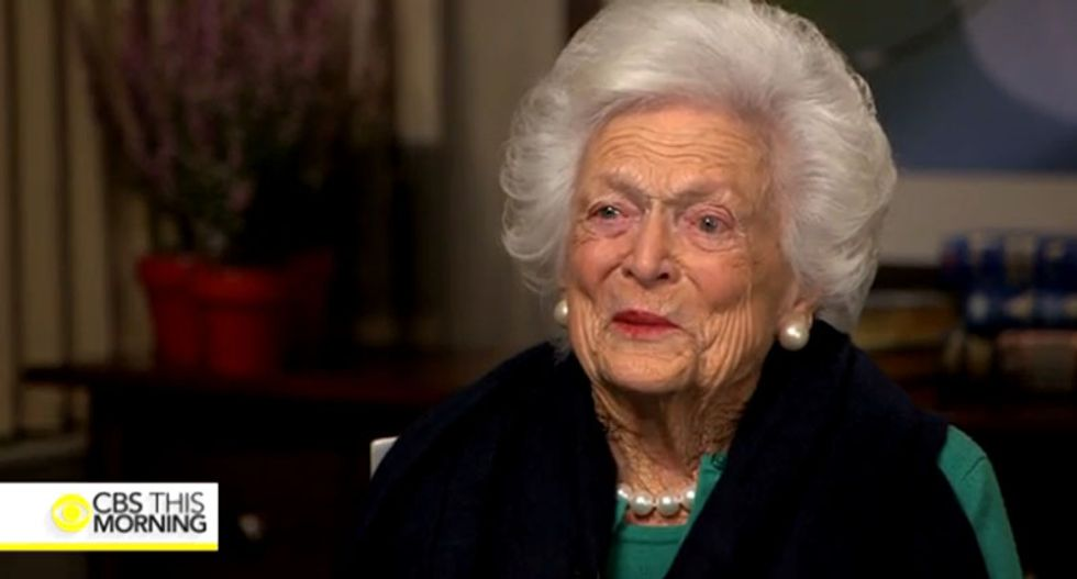 Barbara Bush made some surprising claims about Trump before she died