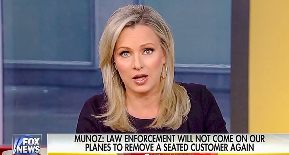 'There's another side to this story': Fox host blames bloody United passenger on 'overregulation'