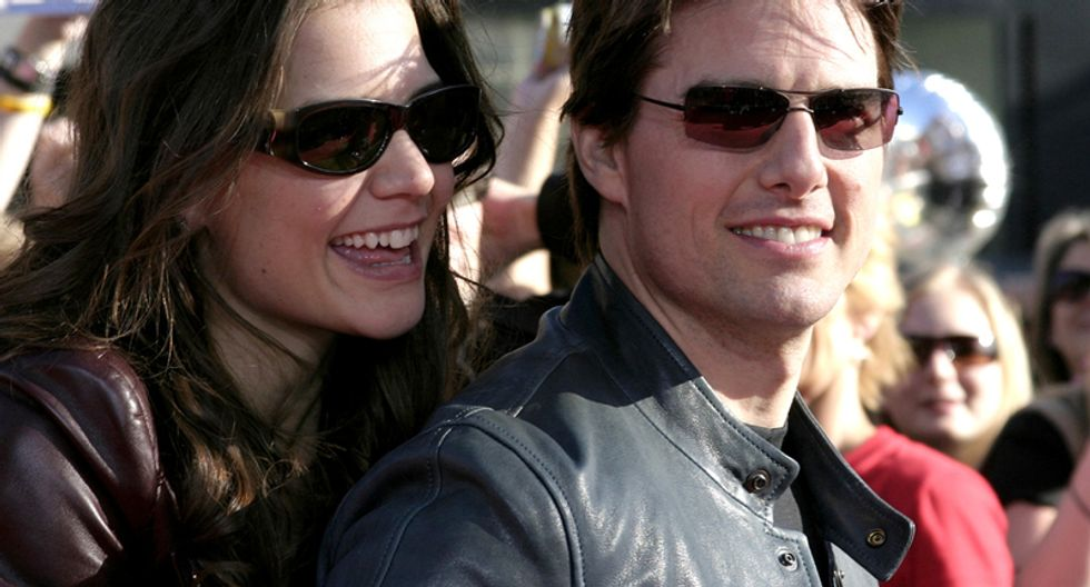 Tom Cruise's ex Katie Holmes just railed against Scientology in the best way possible