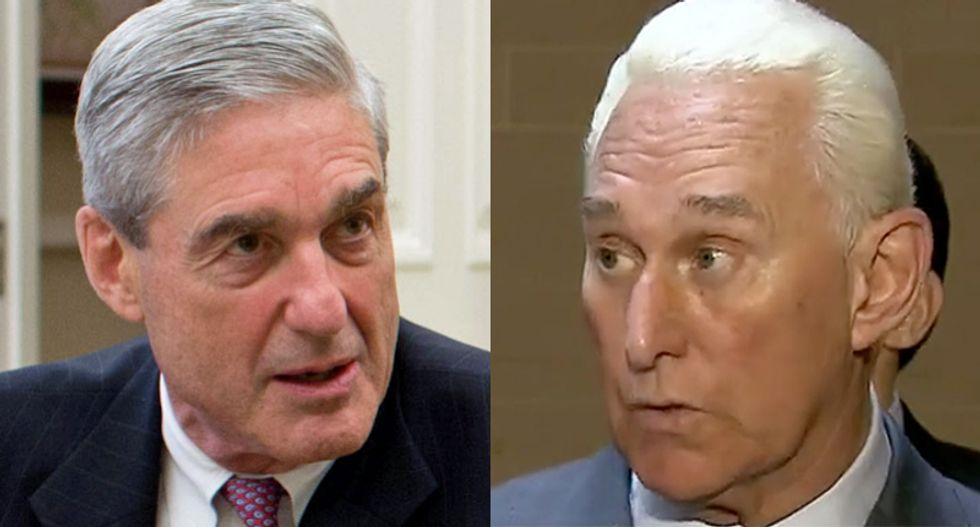 A major development in Roger Stone's case may explain why Mueller is finally resigning