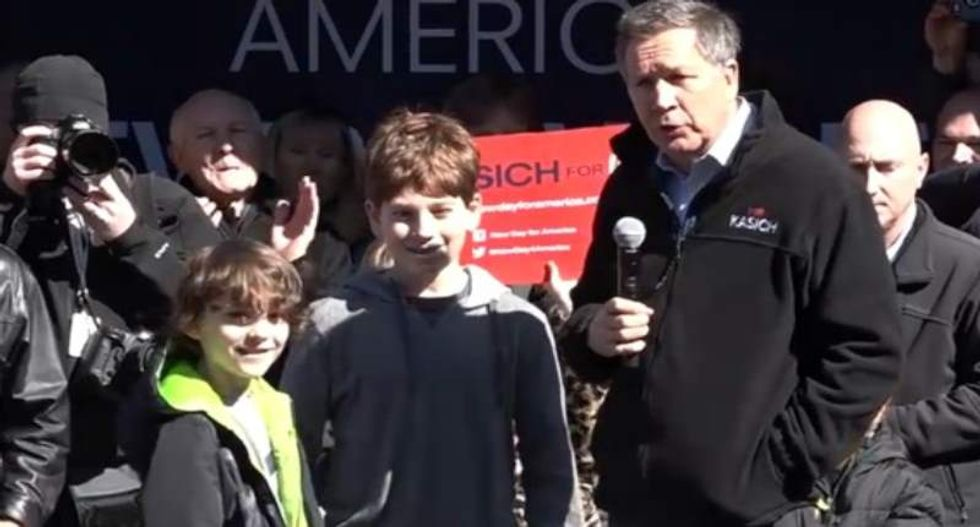 Why John Kasich dragging kids on stage for a 'Just Say No' message doesn't work