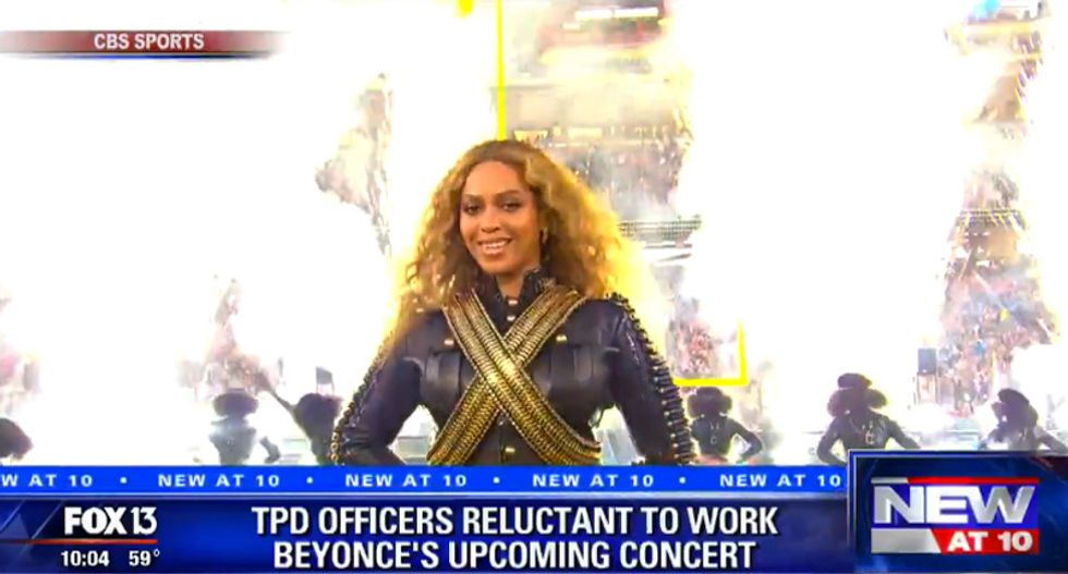 Tampa police refusing to work sold out Beyoncé stadium show