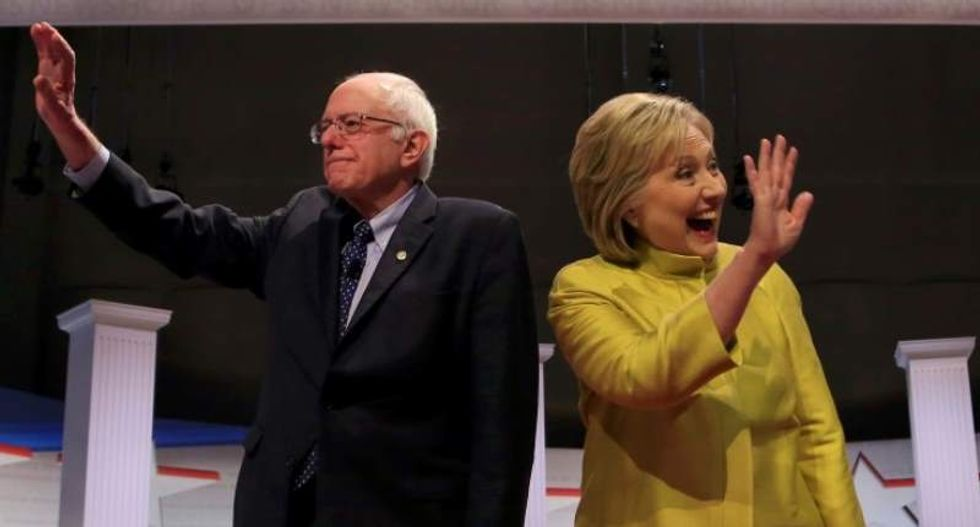 WATCH LIVE: MSNBC and Telemundo air Democratic town hall featuring Clinton and Sanders