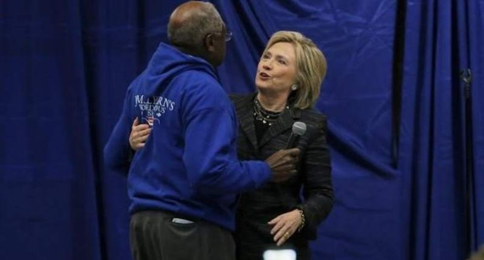 Prominent black Democrat Rep. Clyburn set to endorse Hillary Clinton: report