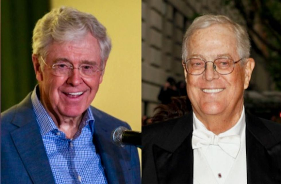 How the Koch brothers bankroll 'Fox News of the regulatory policy world' to help push polluter-friendly agenda