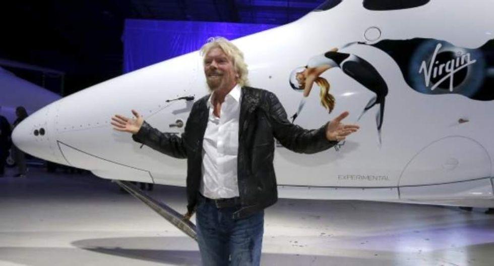 Richard Branson's Virgin Galactic unveils new passenger spaceship
