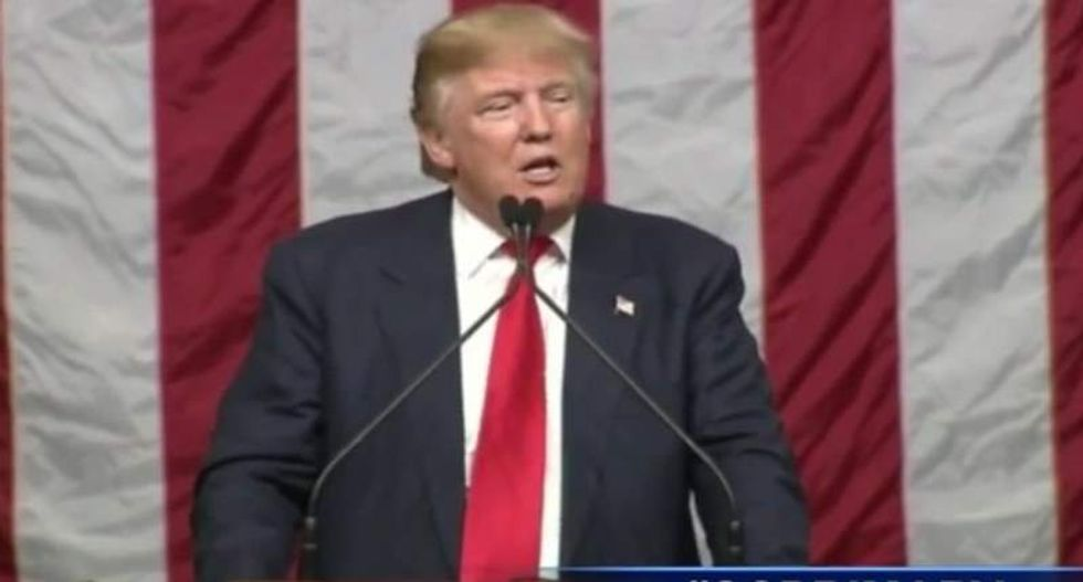 Trump pushes fake story about US general executing Muslims with 'pig's blood' bullets