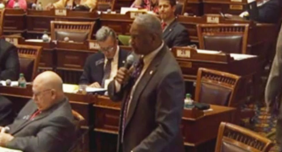 WATCH: Black Georgia lawmaker forces sponsor of 'religious liberty' bill to admit it would protect the Klan