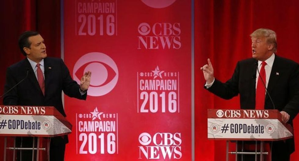 GOP presidential candidates offer stark contrast in style and vision as field thins