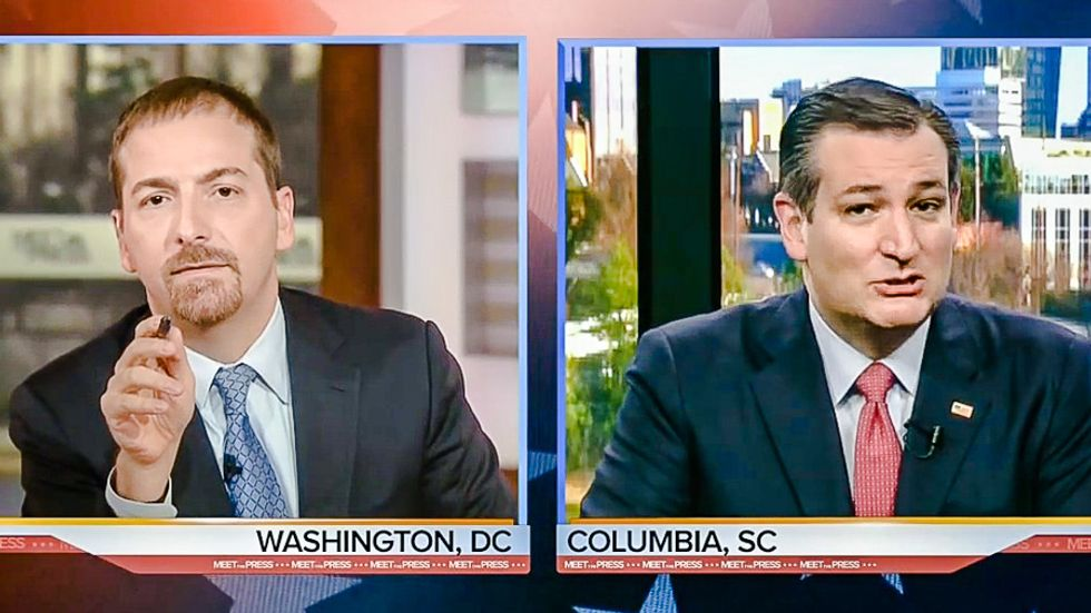 Chuck Todd deflates Ted Cruz's SC victory delusion: 'Wait a minute, you finished third'