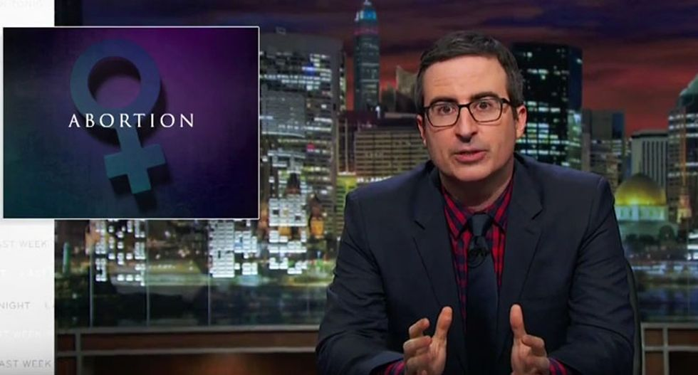 John Oliver absolutely destroys GOP lawmakers whose restrictive anti-abortion laws go 'too f*cking far'