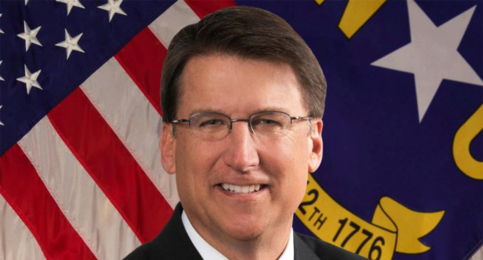 GOP governor threatens to squash Charlotte's pro-LGBT law to protect city from 'deviant actions'